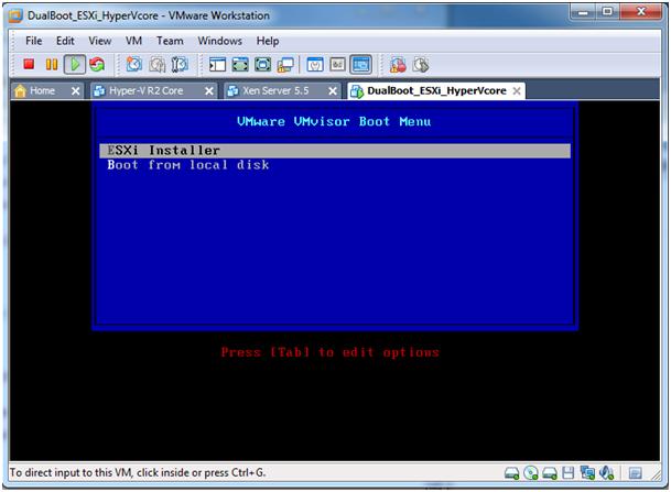 installe Windows 7 machine virtuelle vmware