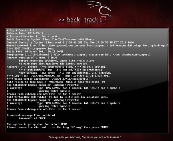 comment installer Backtrack 5 : L'inux 061211_1841_backtrack5i17