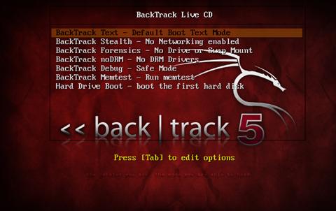 comment installer Backtrack 5 : L'inux 061211_1841_backtrack5i2
