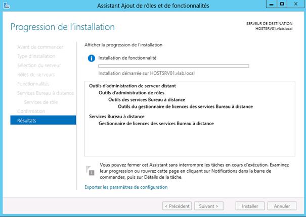 Windows server 2012 installation du r le de - Bureau a distance windows server 2012 ...