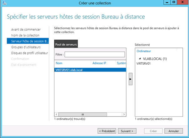 Windows server 2012 configuration des services bureau - Activer le bureau a distance windows 7 ...